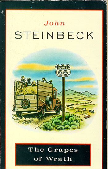 the birth of the ideology of communism in the grapes of wrath by john steinbeck